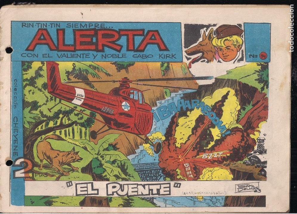 RIN TIN TIN SIEMPRE ALERTA Nº 14 (Tebeos y Comics - Marco - Rin-Tin-Tin)