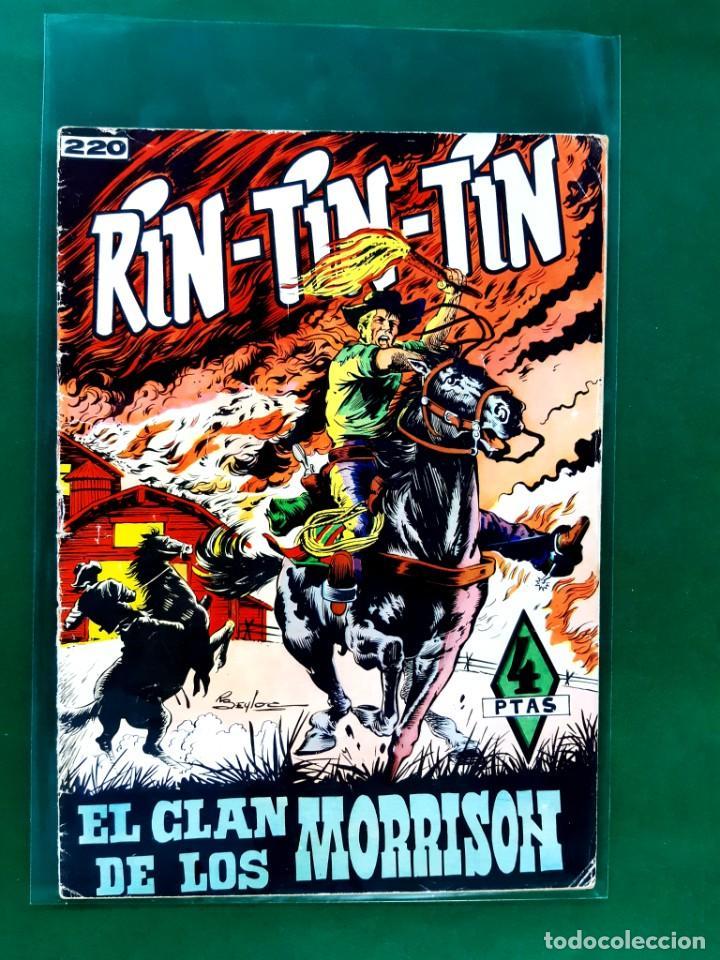 RIN-TIN-TIN-Nº220-EDITORIAL MARCO-EXCELENTE ESTADO- (Tebeos y Comics - Marco - Rin-Tin-Tin)