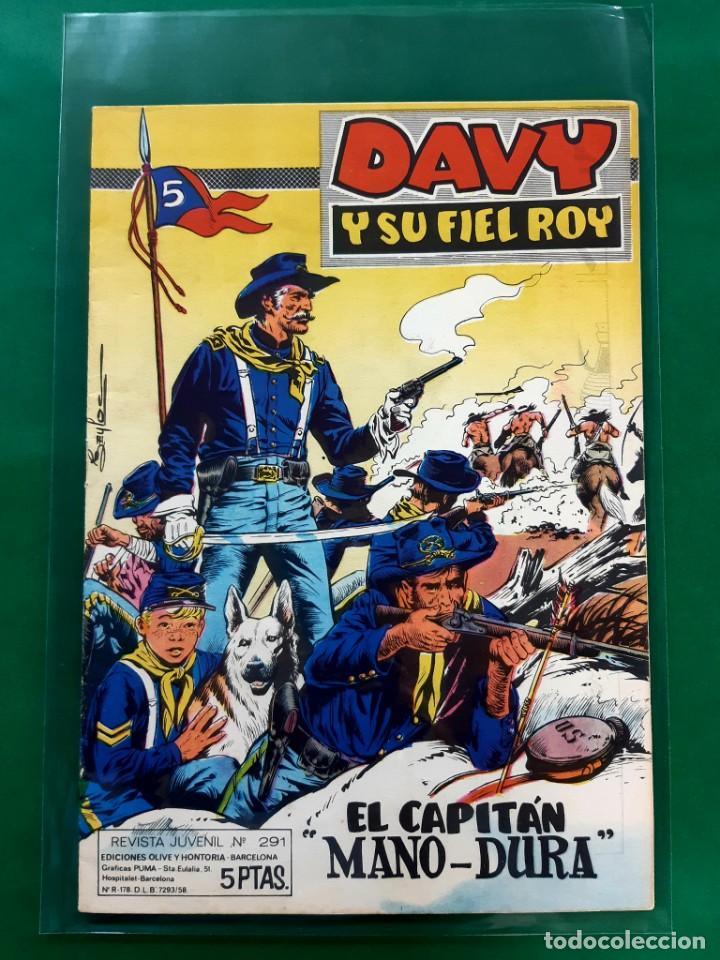 RIN-TIN-TIN-Nº291-EDITORIAL MARCO-EXCELENTE ESTADO- (Tebeos y Comics - Marco - Rin-Tin-Tin)