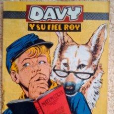 Tebeos: DAVY Y SU FIEL ROY- Nº 280 -DAVY SE EXAMINA- GRAN JOSÉ ROSELLÓ-1966-BUENO-DIFÍCIL-LEAN-3156. Lote 195201222