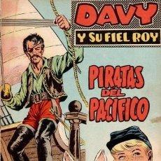 Tebeos: DAVY Y SU FIEL ROY- Nº 313 -PIRATAS DEL PACÍFICO-1967-GRAN M. SUBIRATS-BUENO-MUY DIFÍCIL-LEAN-3159. Lote 195205438