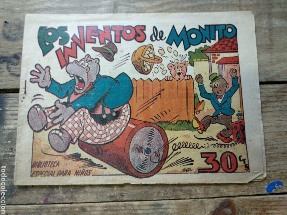 TEBEO LOS INVENTOS DE MONITO. BIBLIOTECA ESPECIAL PARA NIÑOS (Tebeos y Comics - Marco - Hipo (Biblioteca especial))