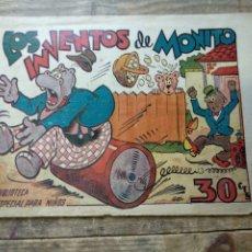 Tebeos: TEBEO LOS INVENTOS DE MONITO. BIBLIOTECA ESPECIAL PARA NIÑOS. Lote 195217708