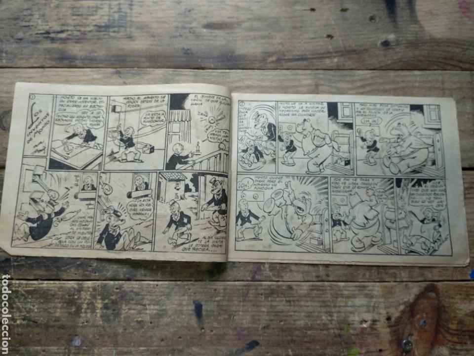 Tebeos: Tebeo Los inventos de monito. Biblioteca especial para niños - Foto 2 - 195217708