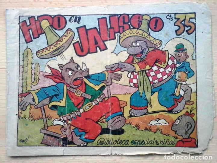 BIBLIOTECA ESPECIAL NIÑOS - HIPO EN JALISCO - ORIGINAL (Tebeos y Comics - Marco - Hipo (Biblioteca especial))