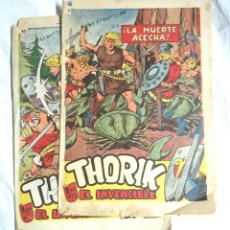 Tebeos: THORIK EL INVENCIBLE Nº 7 Y 10 EDITORIAL MARCO ORIGINAL AÑO 1959. Lote 195359055