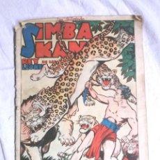 Tebeos: SIMBA KAN REY DE LOS LEONES ALMANAQUE AÑO 1962. EDITORIAL MARCO, ORIGINAL. Lote 195359116