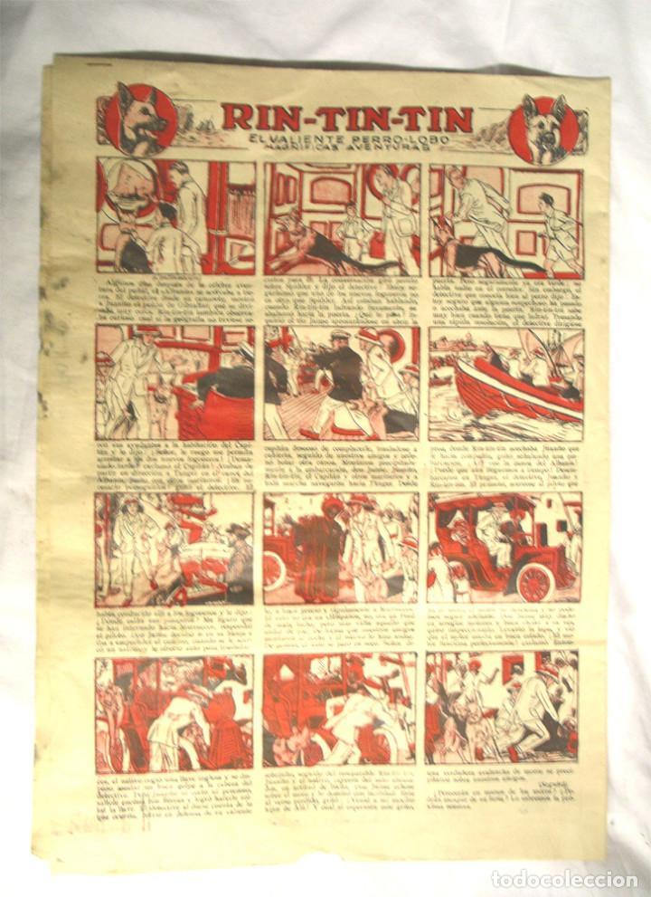 Tebeos: 44 Cómics El Infantil años 20, contraportada Rin Tin Tin, Edit Marco, precio unidad, lista publicada - Foto 2 - 195359252