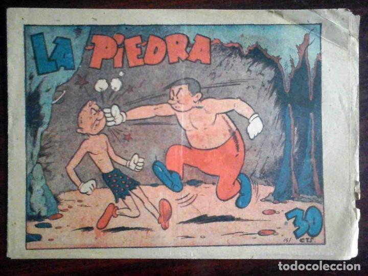 LA PIEDRA Nº 151 POR AYNÉ - ORIGINAL MARCO. (Tebeos y Comics - Marco - Otros)