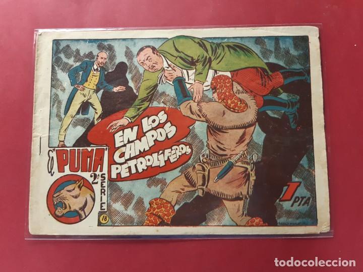 EL PUMA 2ª SERIE Nº 18 ORIGINAL (Tebeos y Comics - Marco - Otros)