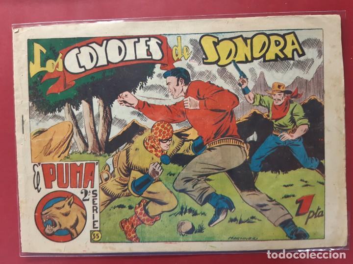 EL PUMA 2ª SERIE Nº 35 ORIGINAL (Tebeos y Comics - Marco - Otros)