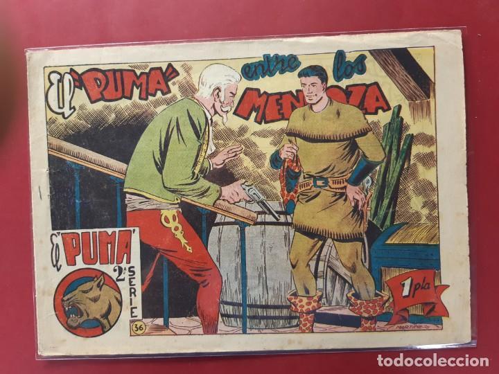 EL PUMA 2ª SERIE Nº 36 ORIGINAL (Tebeos y Comics - Marco - Otros)
