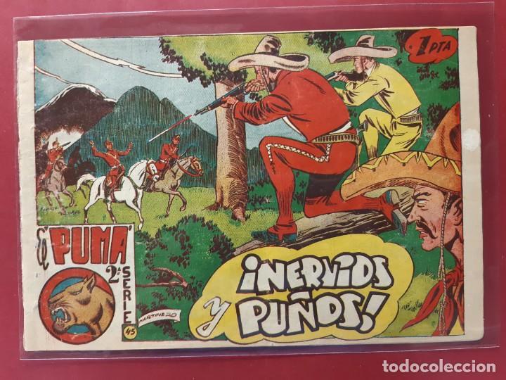 EL PUMA 2ª SERIE Nº 45 ORIGINAL (Tebeos y Comics - Marco - Otros)