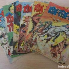 Livros de Banda Desenhada: RIN TIN TIN. LOTE DE 6 EJEMPLARES. EDITA MARCO. Lote 196652828