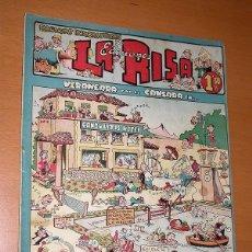 BDs: LA RISA, 2ª ÉPOCA, Nº 9, VERANEARÁ Y NO SE CANSARÁ EN. EDITORIAL MARCO, 1952. FALTA LA CONTRAPORTADA. Lote 26060095