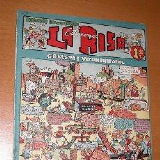 BDs: LA RISA, 2ª ÉPOCA, Nº 14, GALLETAS VITAMINIZADAS. EDITORIAL MARCO, 1952. FALTA LA CONTRAPORTADA. VER. Lote 26095316