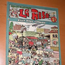 Tebeos: LA RISA, 2ª ÉPOCA, Nº 17, VILLA PITOS ESTACIÓN. EDITORIAL MARCO, 1952. FALTA LA CONTRAPORTADA. VER. Lote 26095317