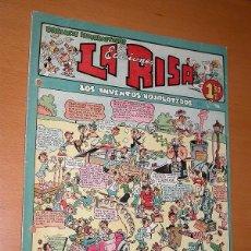 BDs: LA RISA, 2ª ÉPOCA, Nº 11, LOS INVENTOS HOJALATEROS. EDITORIAL MARCO 1952. FALTA LA CONTRAPORTADA VER. Lote 26060096
