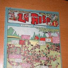 BDs: LA RISA, 2ª ÉPOCA, Nº 12, TORTILLA DEPORTIVA. EDITORIAL MARCO, 1952. FALTA LA CONTRAPORTADA. VER +. Lote 26060097
