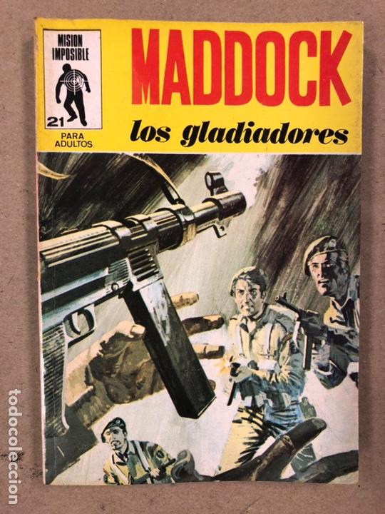 Tebeos: MISIÓN IMPOSIBLE (MARCO IBÉRICA 1971). LOTE DE 10 NÚMEROS (VER EN DESCRIPCIÓN). - Foto 3 - 196915867
