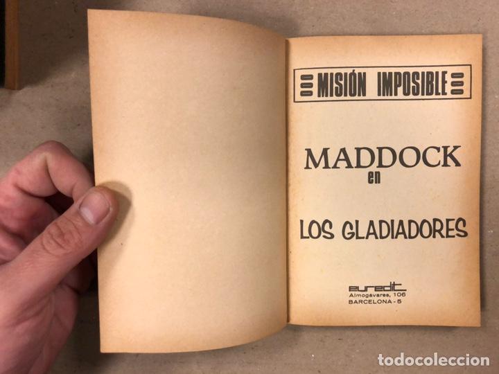 Tebeos: MISIÓN IMPOSIBLE (MARCO IBÉRICA 1971). LOTE DE 10 NÚMEROS (VER EN DESCRIPCIÓN). - Foto 4 - 196915867