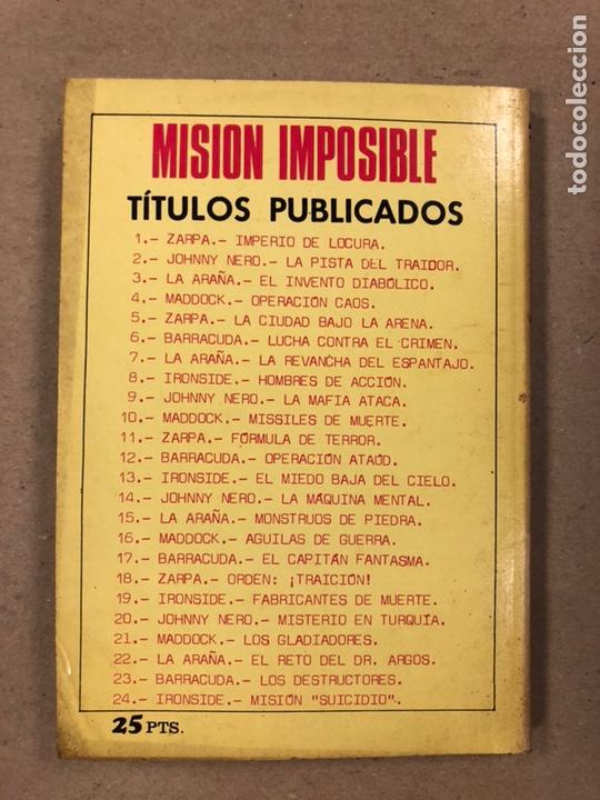 Tebeos: MISIÓN IMPOSIBLE (MARCO IBÉRICA 1971). LOTE DE 10 NÚMEROS (VER EN DESCRIPCIÓN). - Foto 12 - 196915867