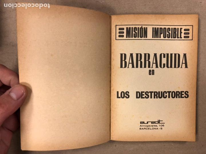 Tebeos: MISIÓN IMPOSIBLE (MARCO IBÉRICA 1971). LOTE DE 10 NÚMEROS (VER EN DESCRIPCIÓN). - Foto 14 - 196915867