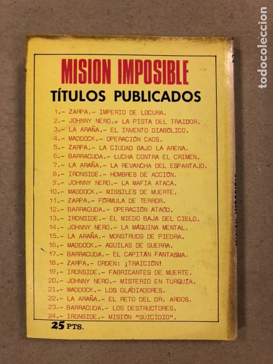 Tebeos: MISIÓN IMPOSIBLE (MARCO IBÉRICA 1971). LOTE DE 10 NÚMEROS (VER EN DESCRIPCIÓN). - Foto 17 - 196915867