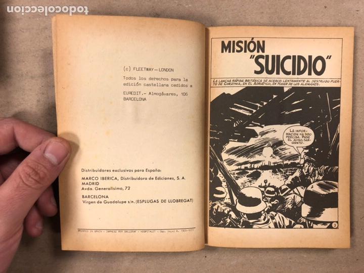 Tebeos: MISIÓN IMPOSIBLE (MARCO IBÉRICA 1971). LOTE DE 10 NÚMEROS (VER EN DESCRIPCIÓN). - Foto 20 - 196915867