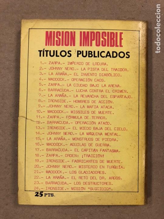 Tebeos: MISIÓN IMPOSIBLE (MARCO IBÉRICA 1971). LOTE DE 10 NÚMEROS (VER EN DESCRIPCIÓN). - Foto 22 - 196915867