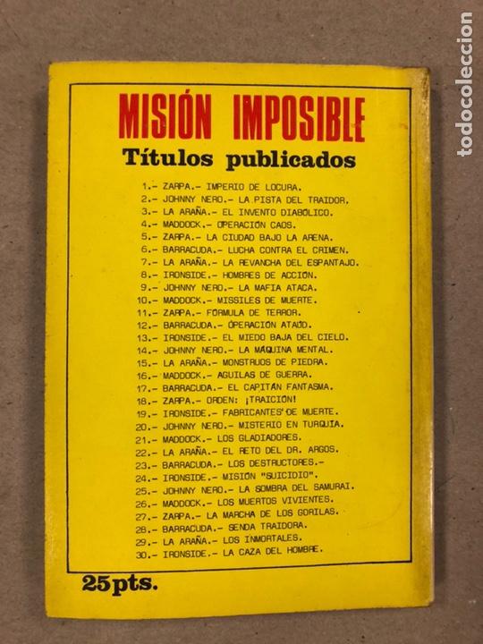 Tebeos: MISIÓN IMPOSIBLE (MARCO IBÉRICA 1971). LOTE DE 10 NÚMEROS (VER EN DESCRIPCIÓN). - Foto 27 - 196915867