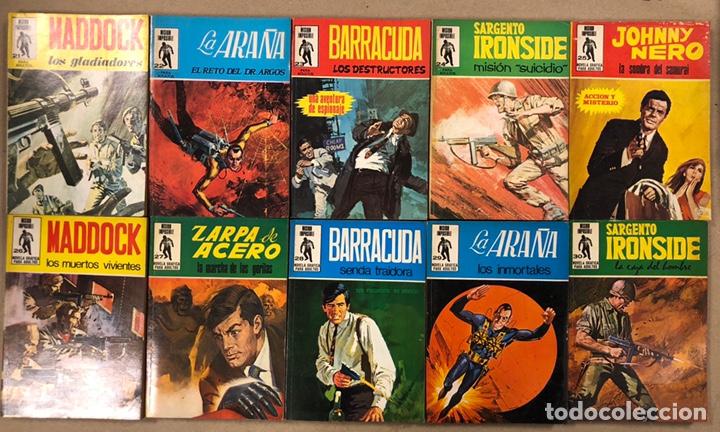 MISIÓN IMPOSIBLE (MARCO IBÉRICA 1971). LOTE DE 10 NÚMEROS (VER EN DESCRIPCIÓN). (Tebeos y Comics - Marco - Otros)
