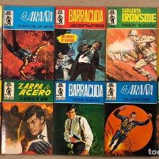 Tebeos: MISIÓN IMPOSIBLE (MARCO IBÉRICA 1971). LOTE DE 10 NÚMEROS (VER EN DESCRIPCIÓN).. Lote 196915867