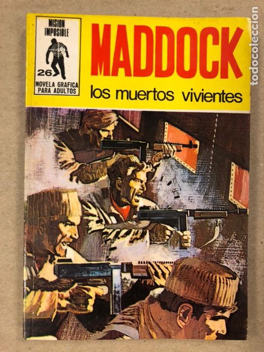 Tebeos: MISIÓN IMPOSIBLE (MARCO IBÉRICA 1971). LOTE DE 10 NÚMEROS (VER EN DESCRIPCIÓN). - Foto 29 - 196915867
