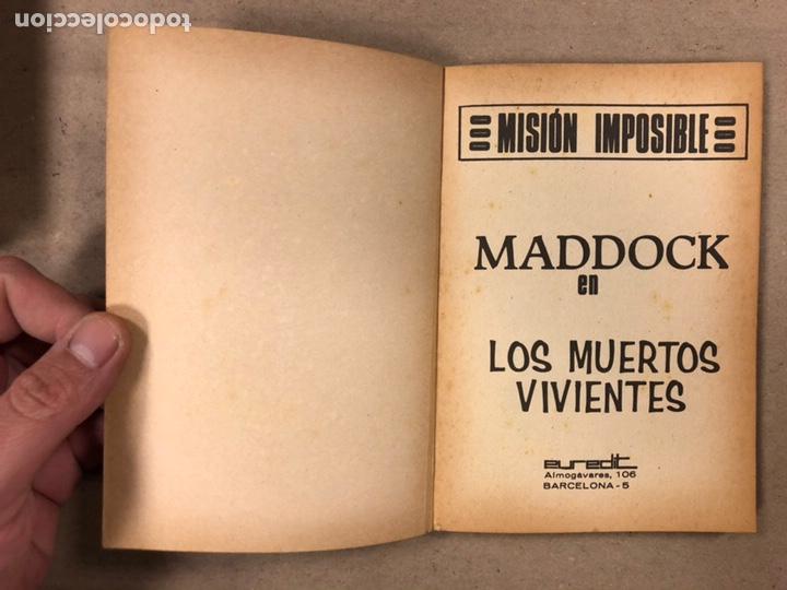 Tebeos: MISIÓN IMPOSIBLE (MARCO IBÉRICA 1971). LOTE DE 10 NÚMEROS (VER EN DESCRIPCIÓN). - Foto 30 - 196915867