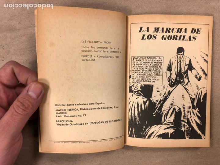 Tebeos: MISIÓN IMPOSIBLE (MARCO IBÉRICA 1971). LOTE DE 10 NÚMEROS (VER EN DESCRIPCIÓN). - Foto 36 - 196915867