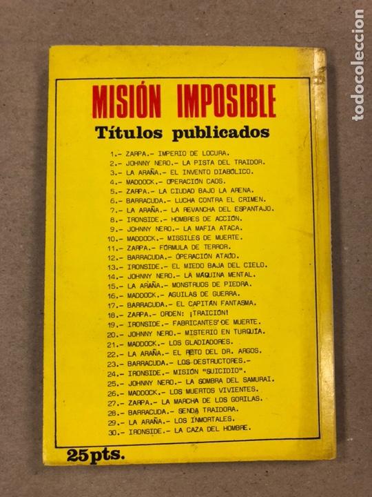 Tebeos: MISIÓN IMPOSIBLE (MARCO IBÉRICA 1971). LOTE DE 10 NÚMEROS (VER EN DESCRIPCIÓN). - Foto 38 - 196915867