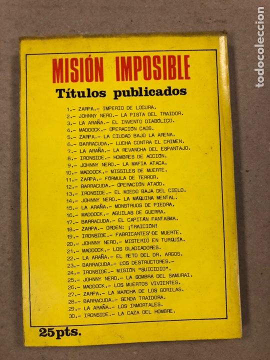 Tebeos: MISIÓN IMPOSIBLE (MARCO IBÉRICA 1971). LOTE DE 10 NÚMEROS (VER EN DESCRIPCIÓN). - Foto 43 - 196915867
