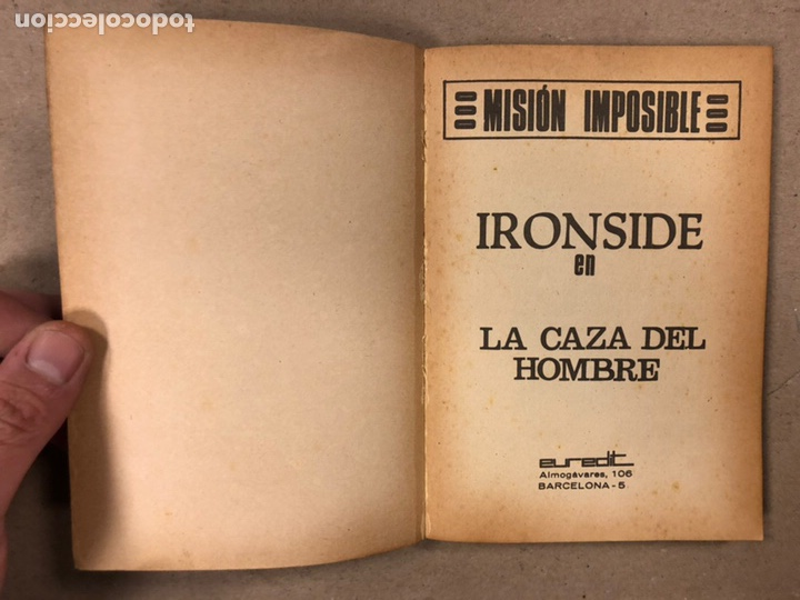 Tebeos: MISIÓN IMPOSIBLE (MARCO IBÉRICA 1971). LOTE DE 10 NÚMEROS (VER EN DESCRIPCIÓN). - Foto 50 - 196915867