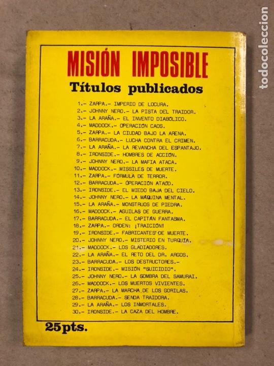 Tebeos: MISIÓN IMPOSIBLE (MARCO IBÉRICA 1971). LOTE DE 10 NÚMEROS (VER EN DESCRIPCIÓN). - Foto 53 - 196915867