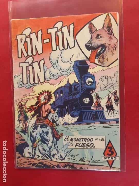 RIN-TIN-TIN Nº 115 EDITORIAL MARCO EXCELENTE ESTADO (Tebeos y Comics - Marco - Rin-Tin-Tin)