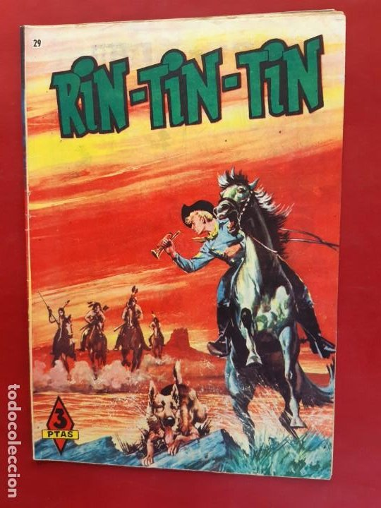 RIN-TIN-TIN Nº 29 EDITORIAL MARCO EXCELENTE ESTADO (Tebeos y Comics - Marco - Rin-Tin-Tin)