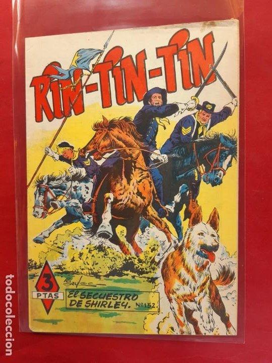 RIN-TIN-TIN Nº 152 EDITORIAL MARCO EXCELENTE ESTADO (Tebeos y Comics - Marco - Rin-Tin-Tin)