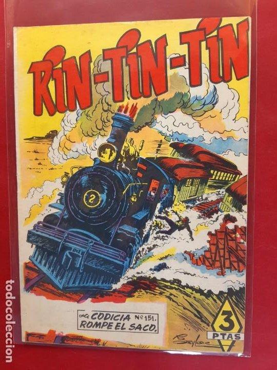 RIN-TIN-TIN Nº 151 EDITORIAL MARCO EXCELENTE ESTADO (Tebeos y Comics - Marco - Rin-Tin-Tin)