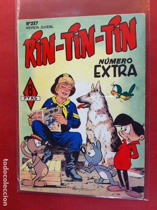 RIN-TIN-TIN Nº 244 EDITORIAL MARCO EXCELENTE ESTADO (Tebeos y Comics - Marco - Rin-Tin-Tin)