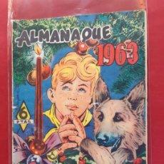 Tebeos: RIN-TIN-TIN ALMANAQUE 1963 EDITORIAL MARCO. Lote 197238623