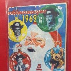 Tebeos: RIN-TIN-TIN-ALMANAQUE 1962-EDITORIAL MARCO-. Lote 197238851