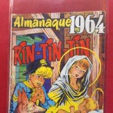 Tebeos: RIN-TIN-TIN-ALMANAQUE 1964-EDITORIAL MARCO-. Lote 197239162