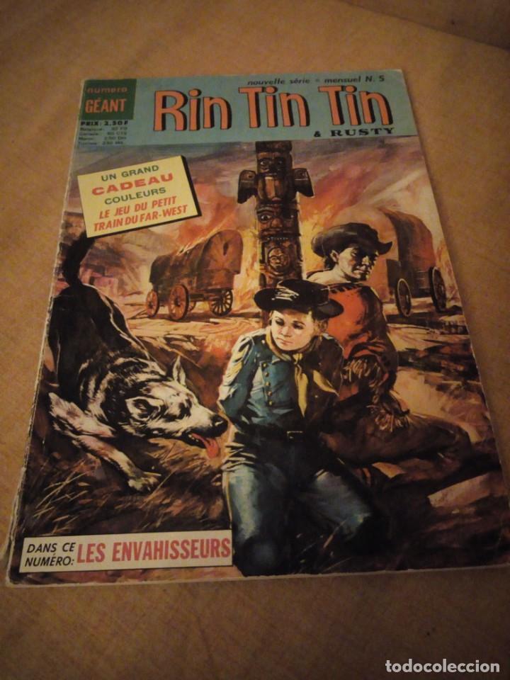 RIN TIN TIN & RUSTY L´HOMME SANS PATRIE 1970 Nº 5,2ª SERIE,FRANCES. (Tebeos y Comics - Marco - Rin-Tin-Tin)