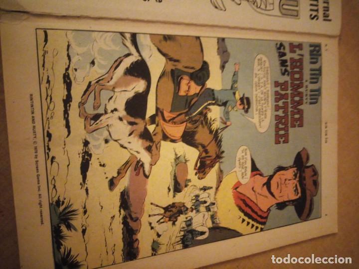 Tebeos: rin tin tin & rusty l´homme sans patrie 1970 nº 5,2ª serie,frances. - Foto 6 - 197501502